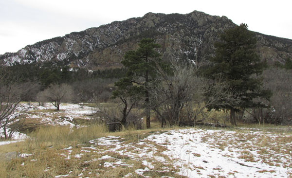 Cheyenne Mountain State Park Mountain View