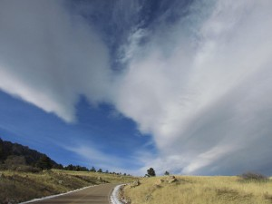 Cloud Above the Road in Cheyenne Canyon State Park