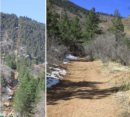 Manitou Incline & Ute Trail alternate Trail
