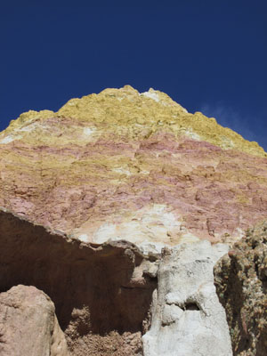 Stunning Colorful Rock Formation in Calhan Paint Mines Park