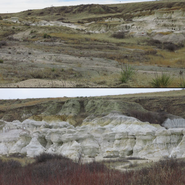 Prairie & Formations in Colorado Paint Mines
