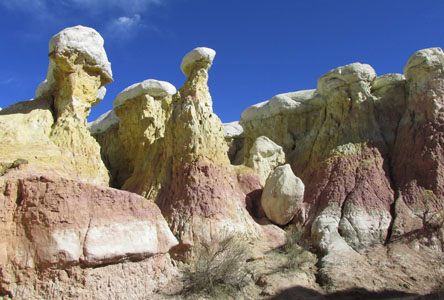 Rock Creatures dancing at Calhan Paint Mines