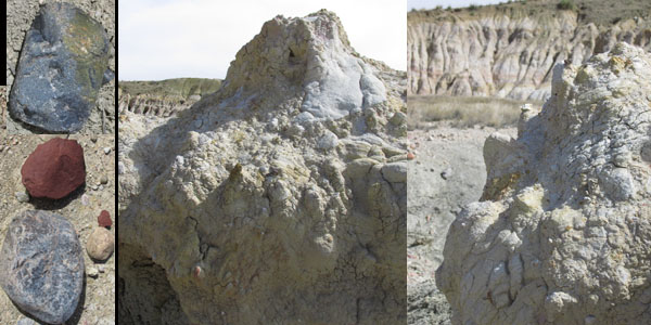 Close up & Ground Rocks in Calhan's Paint Mines