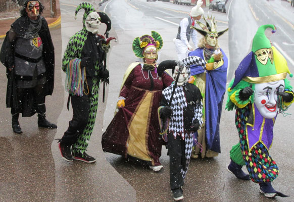 Jesters & Royalty at Carnivale in Manitou Springs