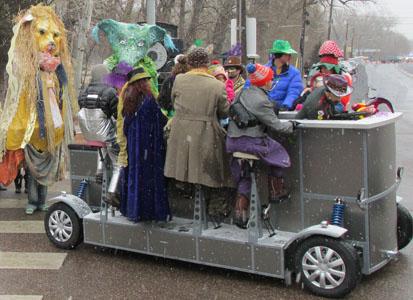Pedal Bar in Manitou Springs Carnivale