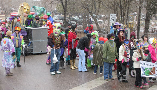 Library & Puppets at Manitu Springs Carnivale