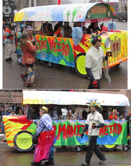 Weirdur Bus in Manitou Springs Carnivale