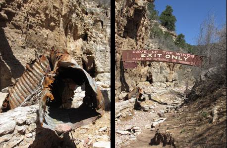 Entrance Culvert to Williams Canyon