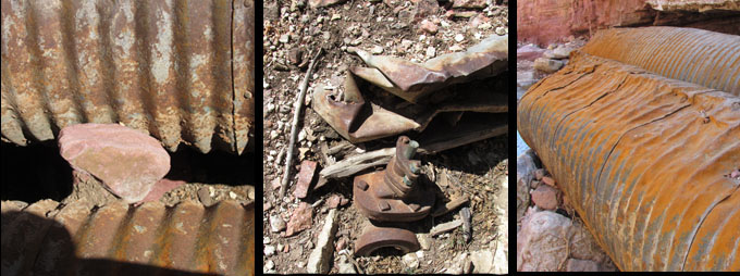 Rusty Items in Williams Canyon