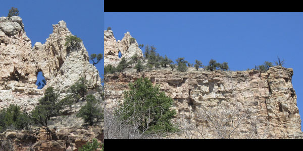 Saint Peter's Gate in Williams Canyon