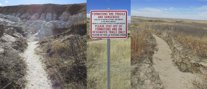 Colorado Paint Mine Trails