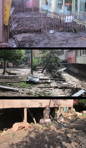 2013 Flooding In Manitou Springs