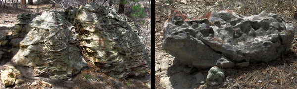 Frog Rock at Ute Valley Park