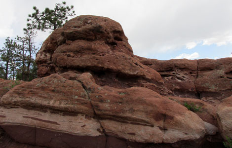 Jabba the Hutt at Garden of the Gods