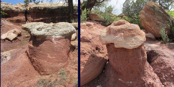 Mushroom Rocks at Garden of the Gods