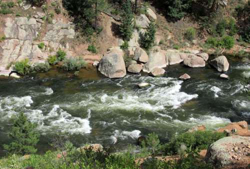 Platte River by Deckers Colorado