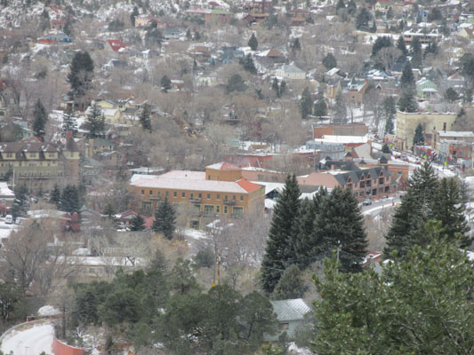 Oh Little Town Of Manitou